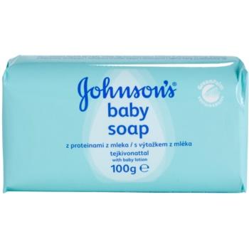 Johnson's Baby Wash and Bath milo z izvlečkom mleka za otroke