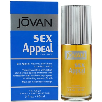 Jovan Sex Appeal eau de cologne pentru bărbați