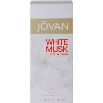 Jovan White Musk kolínská voda pro ženy 4