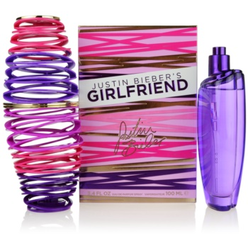 Justin Bieber Girlfriend Eau De Parfum pentru femei 100 ml