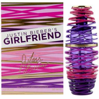Justin Bieber Girlfriend Eau de Parfum pentru femei