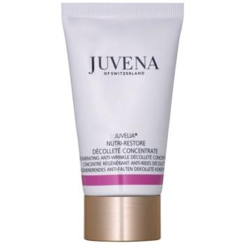 Juvena Juvelia® Nutri-Restore ser concentrat antirid cu efect de regenerare pentru gat si decolteu
