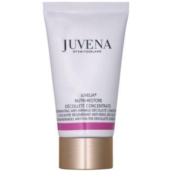 Juvena Juvelia® Nutri-Restore ser concentrat antirid cu efect de regenerare pentru gat si decolteu poza
