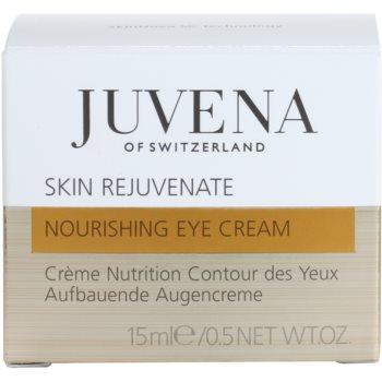 Juvena Skin Rejuvenate Nourishing околоочен крем против бръчки за всички типове кожа на лицето 4