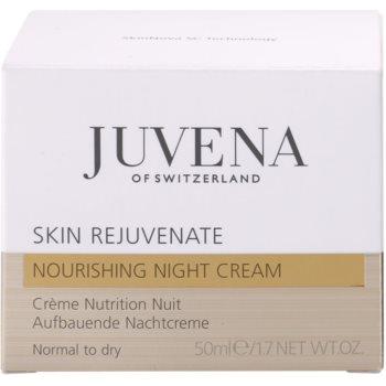 Juvena Skin Rejuvenate Nourishing Nachtcreme gegen Falten für normale und trockene Haut 4