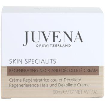 Juvena Specialists регенериращ крем за шия и деколте 4