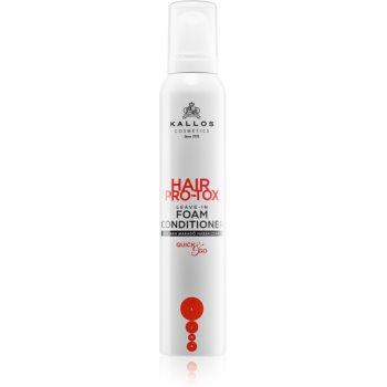 Kallos Hair Pro-Tox balsam (nu necesita clatire) pentru par sensibil imagine produs