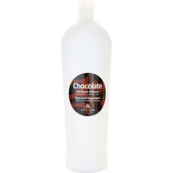 Kallos Chocolate sampon pentru regenerare pentru par uscat si deteriorat