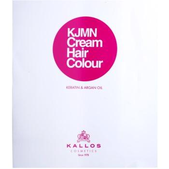 Kallos KJMN culoare par cu keratina si ulei de argan 3