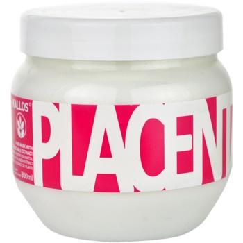 Kallos Placenta masca pentru par uscat si deteriorat