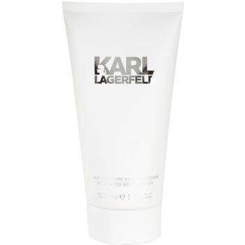 Fotografie Lagerfeld Karl Lagerfeld For Her - tělové mléko 150 ml