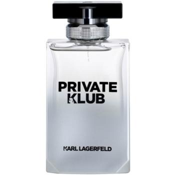 poze cu Karl Lagerfeld Private Klub Eau de Toilette pentru barbati 100 ml