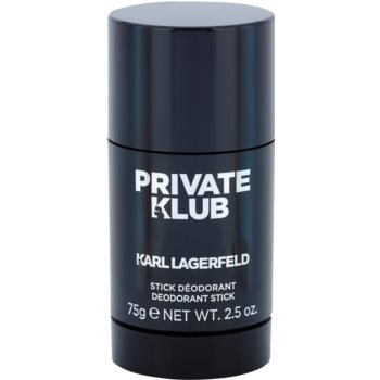 Karl Lagerfeld Private Klub desodorizante em stick para homens