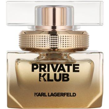 Karl Lagerfeld Private Klub eau de parfum pentru femei 25 ml
