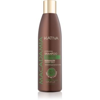 KATIVA Macadamia sampon hidratant pentru un par stralucitor si catifelat