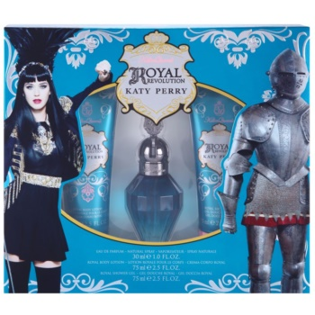 Image of Katy Perry Royal Revolution Gift Set I. Eau De Parfum 30 ml + Body Milk 75 ml + Shower Gel 75 ml