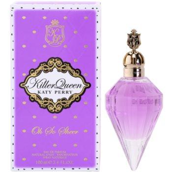 Katy Perry Killer Queen Oh So Sheer парфумована вода для жінок