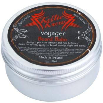 Keltic Krew Voyager balsam pentru barba cu aroma de eucalipt