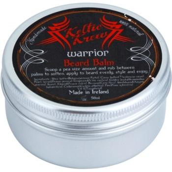 Keltic Krew Warrior balsam pentru barba cu aroma de lemn de santal