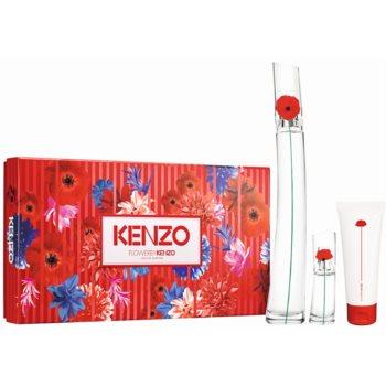 Kenzo Flower by Kenzo parfémovaná voda 100 ml + parfémovaná voda 15 ml + tělové mléko 75 ml