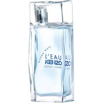 Kenzo L'Eau Kenzo Hyper Wave Pour Homme Eau de Toilette pentru bărbați poza noua