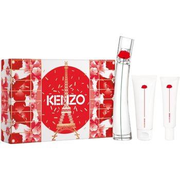 Kenzo Flower by Kenzo parfémovaná voda 50 ml + tělové mléko 75 ml + krém na ruce 20 ml
