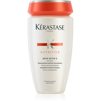 Fotografie Kérastase Nutritive Bain Satin 2 vyživující šampon pro normální až silné, středně suché vlasy 250 ml