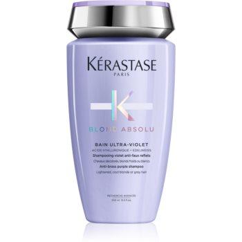 Kérastase Blond Absolu Bain Ultra-Violet șampon de baie pentru păr în nuanțe reci de blond, decolorat sau șuvițat
