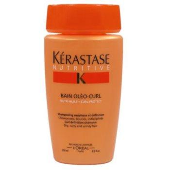 Kérastase Nutritive шампоанена процедура за еластичност и оформяне на суха, вълниста или къдрава коса