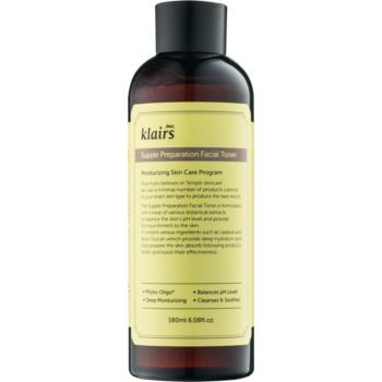 klairs supple preparation tonic hidratant pentru echilibrarea ph-ului pielii