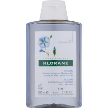 Klorane Flax Fiber sampon pentru par fin