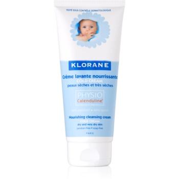 klorane bébé cold cream lapte demachiant nutritiv pentru pielea uscata sau foarte uscata