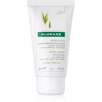 Klorane Oat Milk balsam delicat pentru spãlare frecventã poza