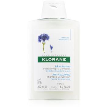 Klorane Centaurée șampon pentru părul blond şi gri poza noua
