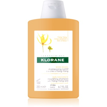 Klorane Ylang-Ylang șampon intens hrănitor pentru par expus la soare