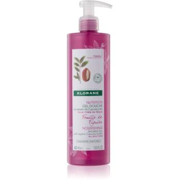 Klorane Cupuacu Listy fíkovníku vyživující sprchový gel 400 ml