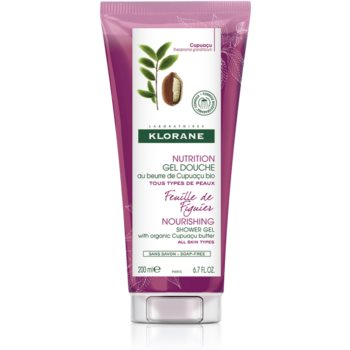 Klorane Cupuacu Listy fíkovníku vyživující sprchový gel 200 ml