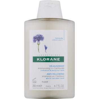 Fotografie Klorane Centaurée šampon pro blond a šedivé vlasy 200 ml