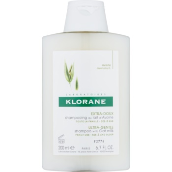 Klorane Oat Milk sampon pentru spălare frecventă