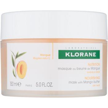 Klorane Mango masca hranitoare pentru par uscat si deteriorat