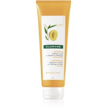 Klorane Mango crema leave-in nutritie si hidratare
