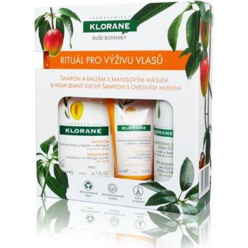 Klorane Mango set cadou I. (cu efect de nutritiv)