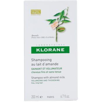 Klorane Amande шампоан  за обем 3