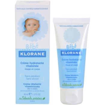 Klorane Bébé hydratační krém na obličej a tělo 2