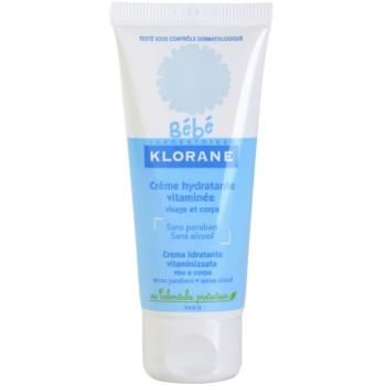 Klorane Bébé crema hidratanta pentru fata si corp  40 ml