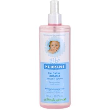 Klorane Bébé spray pe baza de apa pentru reimprospatare pentru copii  500 ml