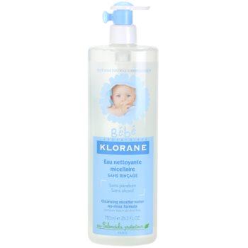 Fotografie Klorane Bébé čisticí micelární voda pro děti 750 ml