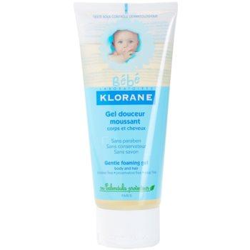 Klorane Bébé делікатний гель для волосся та тіла