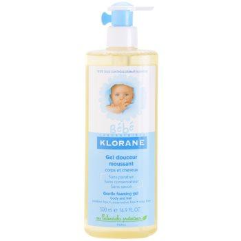 Klorane Bébé gel pentru fermitate pentru par si corp