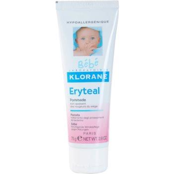 Fotografie Klorane Bébé Erytéal ochranná mast na dětský zadeček 75 ml